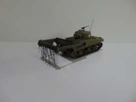 1:72 WW2 British Sherman Crab Flail Tank