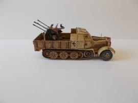 1:72 WW2 German Sdkfz 7/1 Armoured
