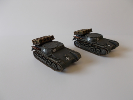 1:72 WW2 German Panzer I Wurfrahman Rocket