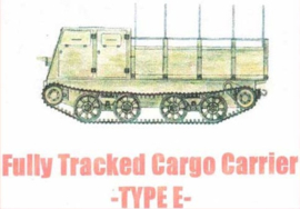 1:72 WW2 Japanese Type E Tracked Carrier