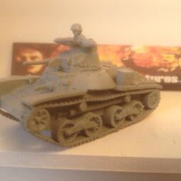 1:72 WW2 Japanese Type 95 Ha-Go Light Tank