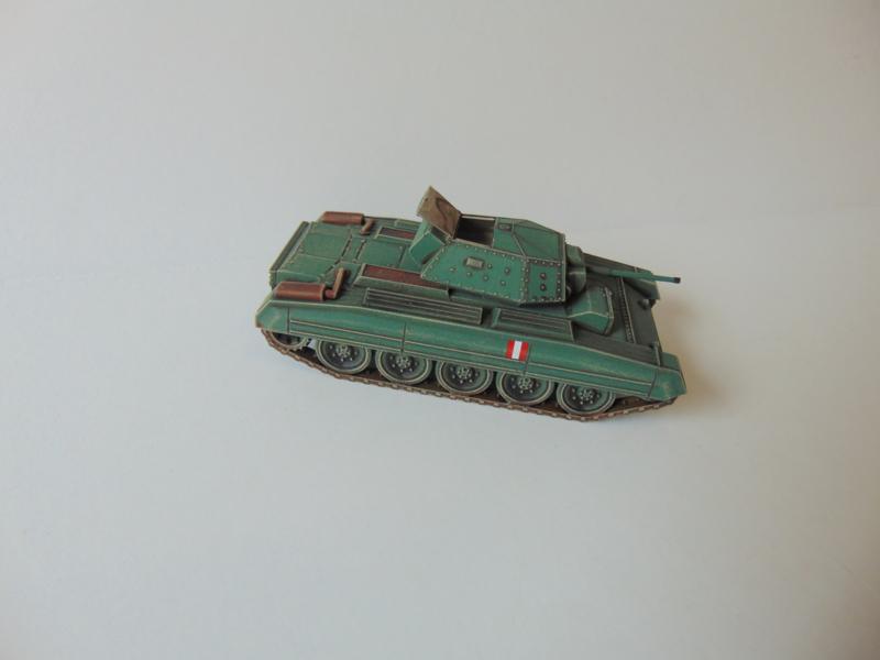 1:72 WW2 British Crusader MK II