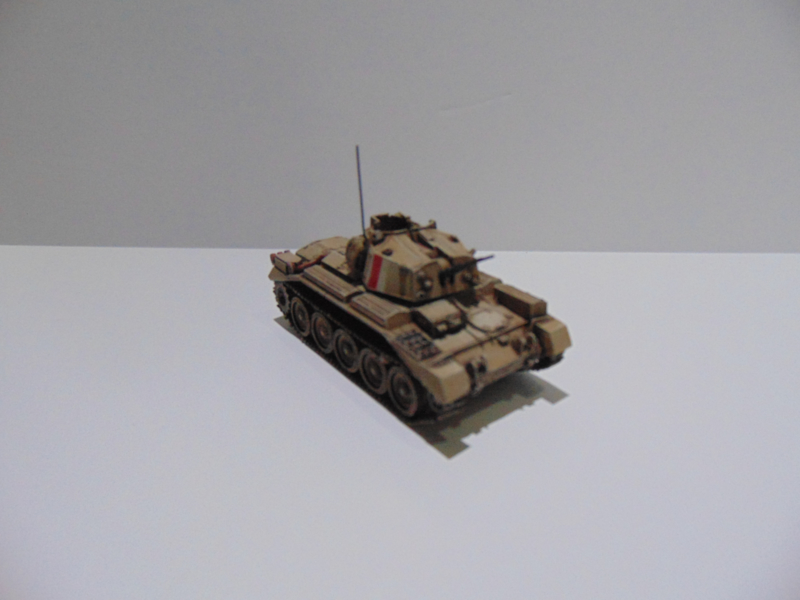 1:76 WW2 British Crusader MK III AA