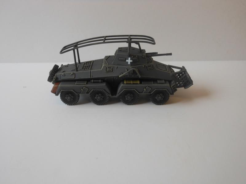 1:72 WW2 German Sdkfz 232 8 Rad