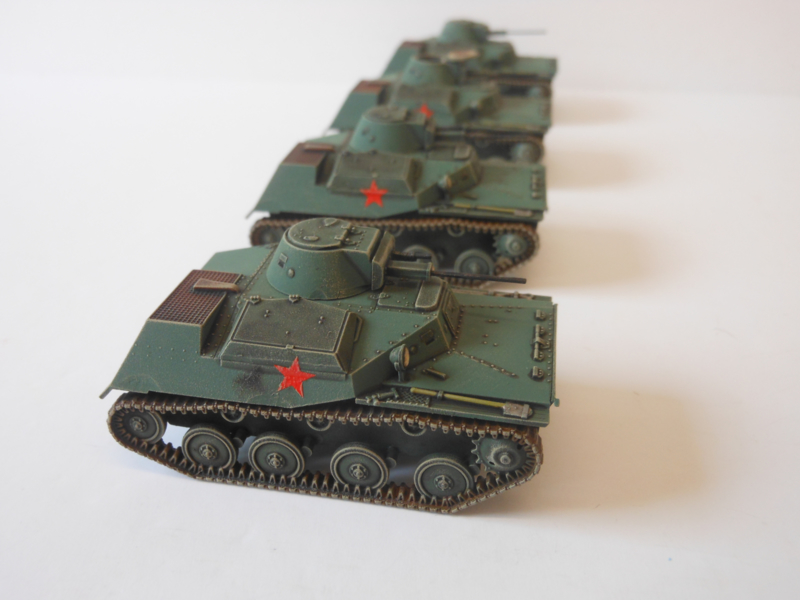 1:72 WW2 Russian T-40S