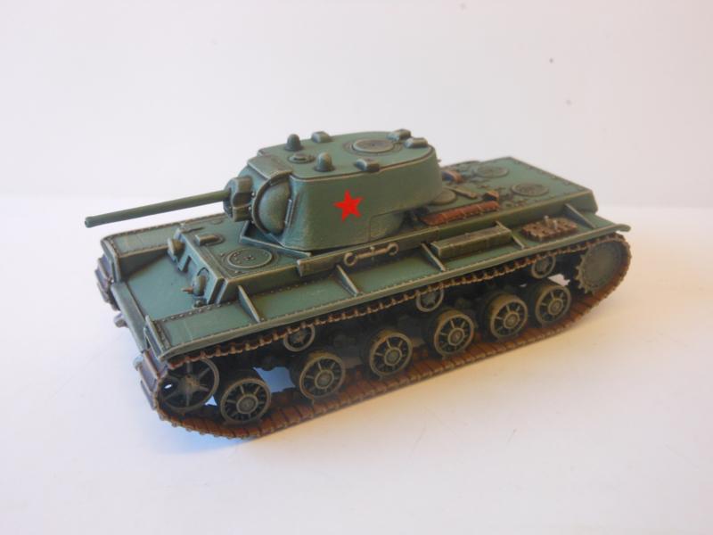 1:72 WW2 Russian KV-1 (1942)