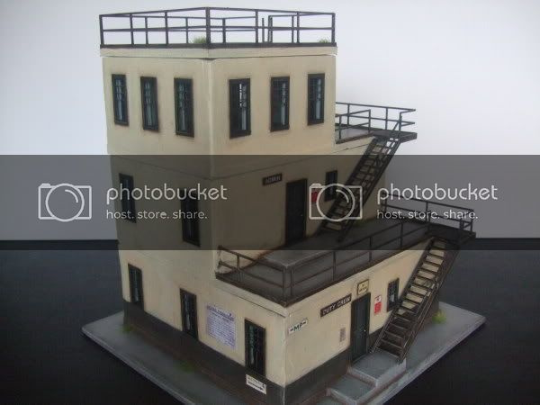 28mm Airfield Control Tower Commission Works
