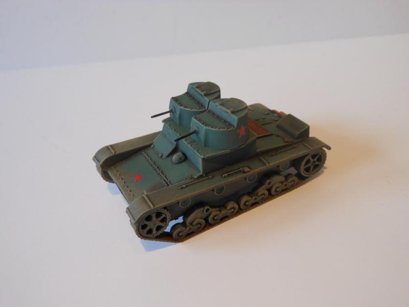 1:72 WW2 Russian T-26 Twin MG