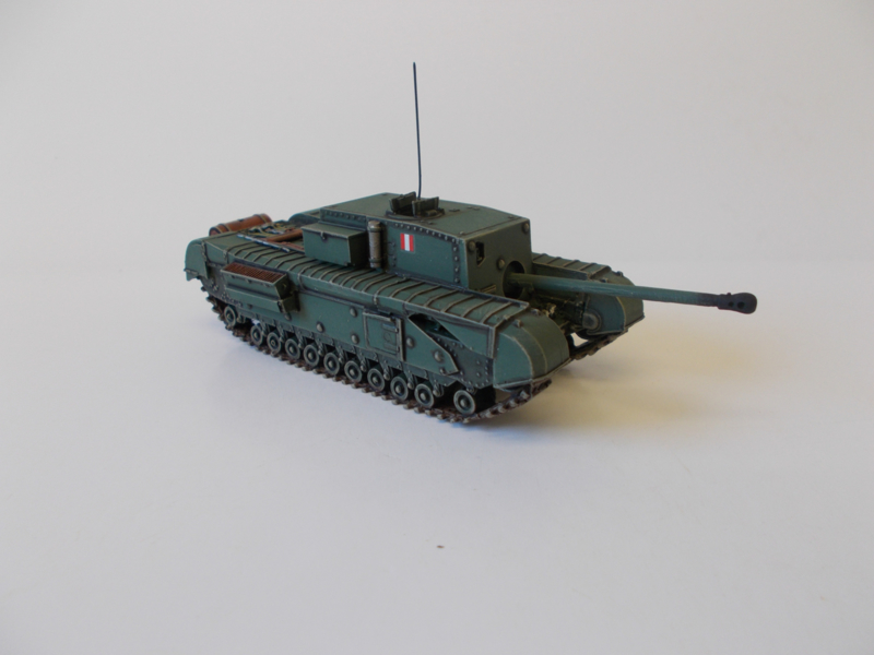 1:72 WW2 British Churchill Gun Carrier