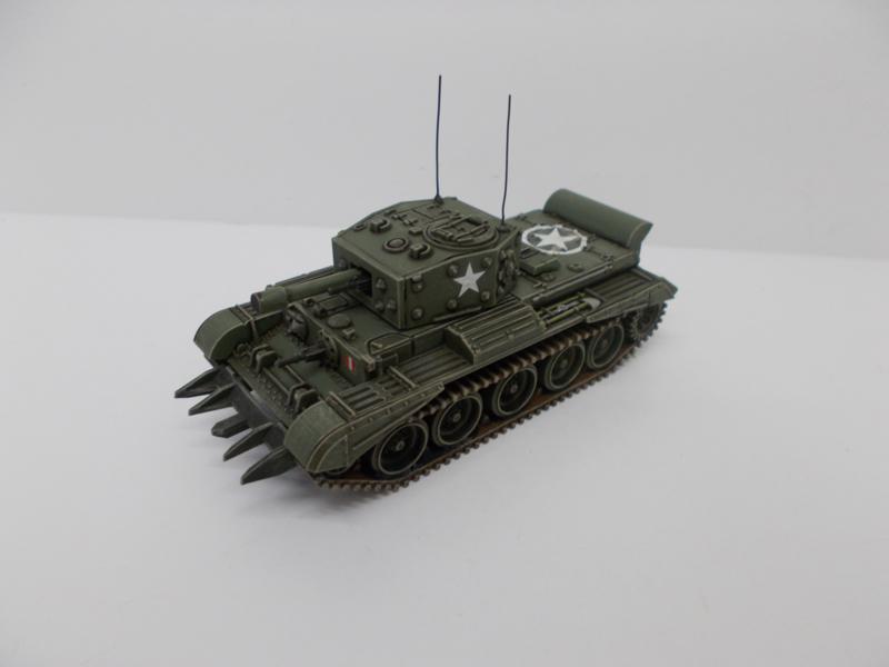 1:72 WW2 British Cromwell CS W/Cullen