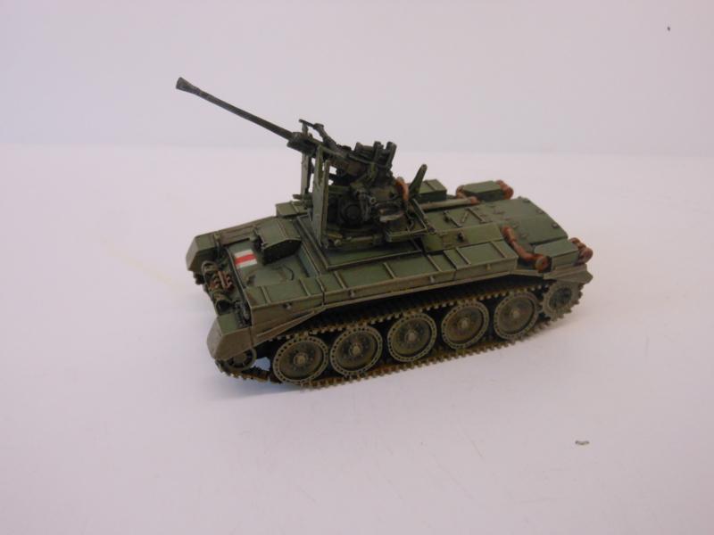 1:76 WW2 British Crusader MK III 40mm AA