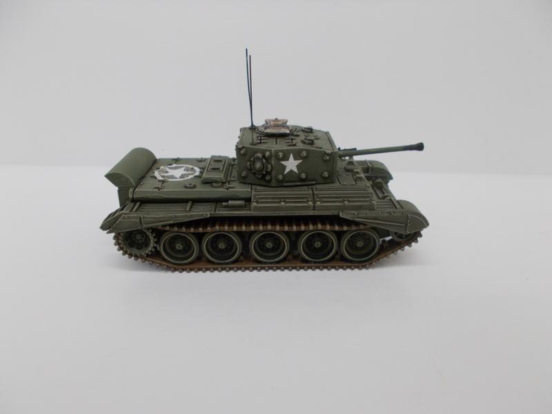 1:72 WW2 British Cromwell W/Wading Trunk