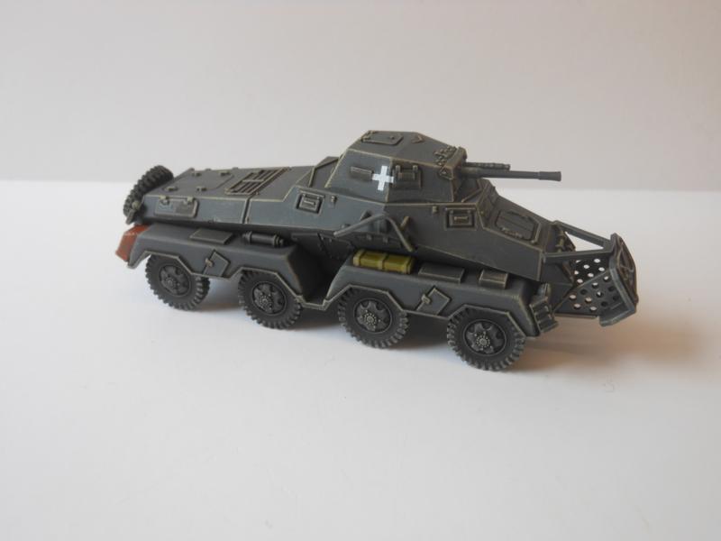 1:72 WW2 German Sdkfz 231 8 Rad