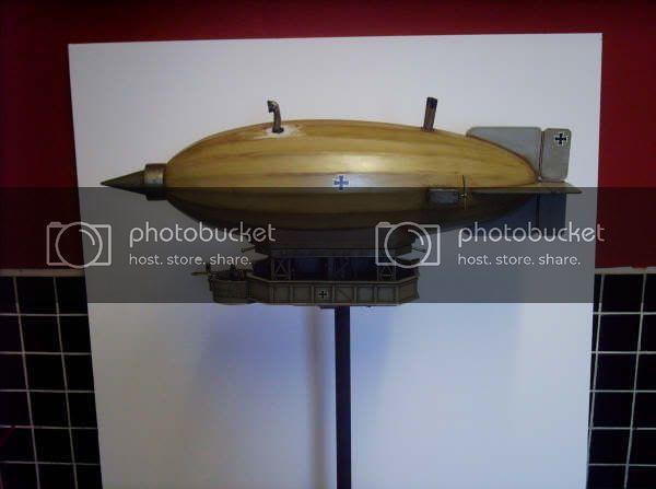 28mm Steampunk Zeppelin Commission Works