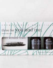 Three For You And Me - Eucalyptus/Sage