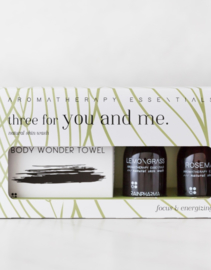 Three For You and Me - Lemongrass & Rosemary