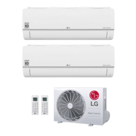 LG MU2R15 Duo Airconditioner 2x 2.5 kW/9.000 Btu 90 m³