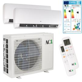 AC1 Duo Airconditioner 2x 3.5 kW/12.000 Btu 120 m³