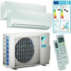 Daikin Duo Split FTXP25M5V1B9 Airconditioner 2x 2.5 kW/9.000 Btu 90 m³
