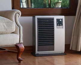 Zibro FF - V30 T Gevelkachel 3.0 kW 150 m³