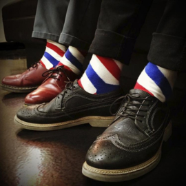 The BARBER POLE Socks
