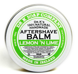Dr. K. Aftershave Balm (Lemon 'n Lime)