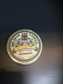 Mr Bear Family Wintergreen Beard Balm Limited Edition
