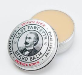 Captain Fawcett's private stock