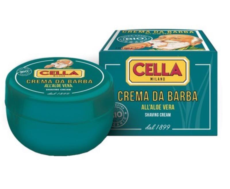 Cella Milano Scheerzeep Traditional Bio - Aloë Vera 150ml