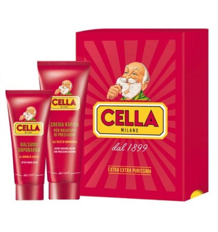 Cella Milano Cadeauset Scheergel & Aftershave Balsem