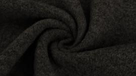 Boiled wool donker grijs