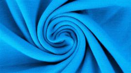 Tricot uni turquoise