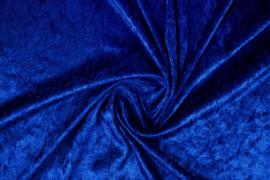 Velours de panne kobalt