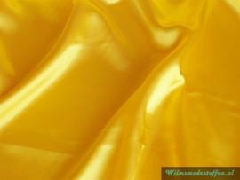 Polyester satijn geel