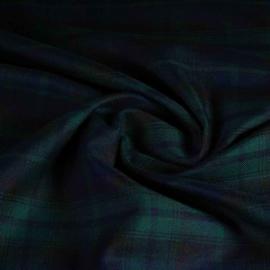Schotse ruit black-watch groen