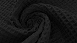 Wafelkatoen zwart
