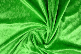 Velours de panne groen (gras)