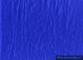 Crinkle Taft  kobalt