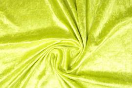 Velours de panne lime