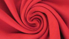 Tricot uni rood
