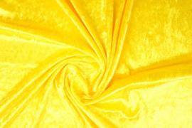 Velours de panne geel (echt geel)