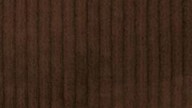 Corduroy stretch bruin