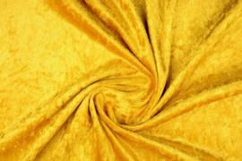Velours de panne goud/geel (oker)