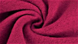 Boiled wool fuchsia