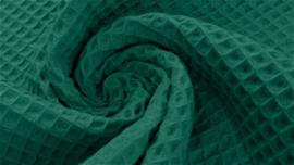 Wafelkatoen donker groen