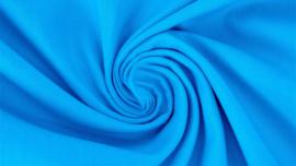 Katoen aqua blauw