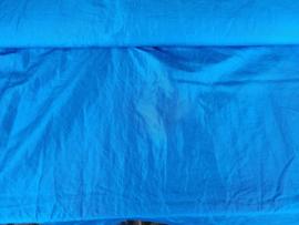 Crinkle Taft turquoise (donker)