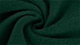 Boiled wool donker groen