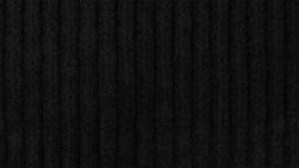 Corduroy stretch zwart