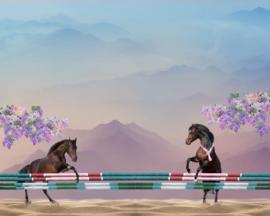 Stenzo panel 17238 (120x150cm) paarden